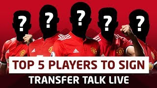 5 Players Manchester United Need To Sign! Transfer Talk