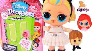 КУКЛА ЛОЛ ПРОПАЛА В ДВЕРКАХ! DISNEY DOORABLES Toys + Куклы ЛОЛ Видео для Детей с Май Той Пинк