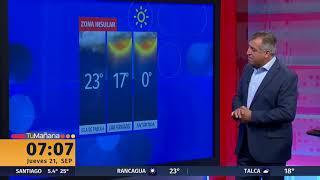 Suben las temperaturas en la zona central del país