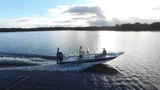 2016 Xpress SW20 Bay boat filmed with Phantom 3 pro