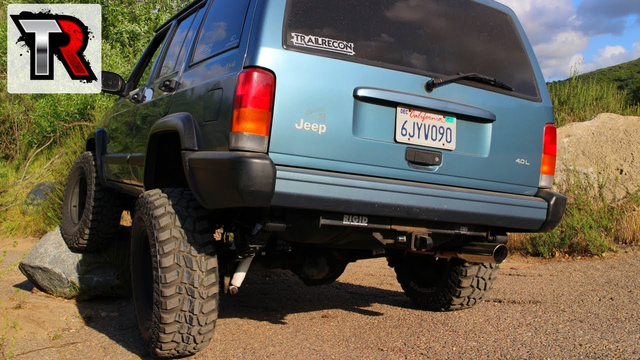 Project Jeep Cherokee XJ Overland