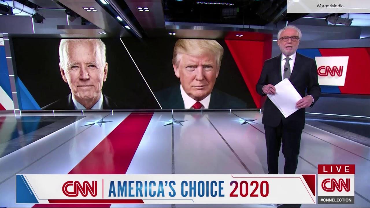 CNN 'America's Choice: Election Night in America' open