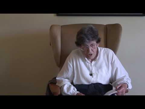 Jenny Joseph reads her poem 'Warning'