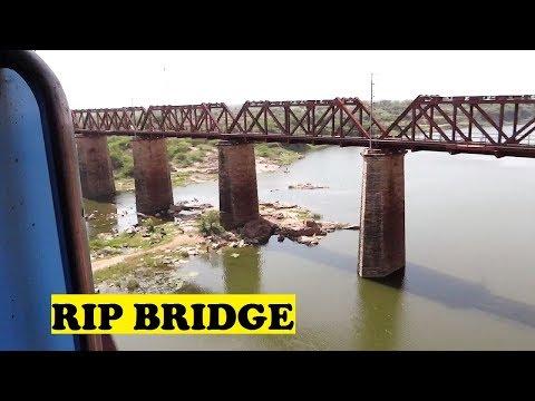 WAP5 Bhopal Shatabdi Rips Sindh River Bridge