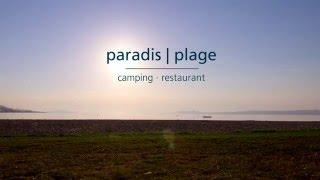 Camping Paradis-Plage à Colombier (Suisse)