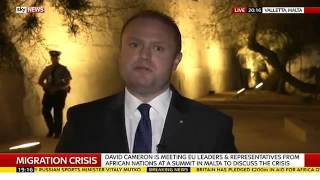 Malta says Can't Have Open Door Policy On ISLAM refugee invasion Breaking News November 14 2015