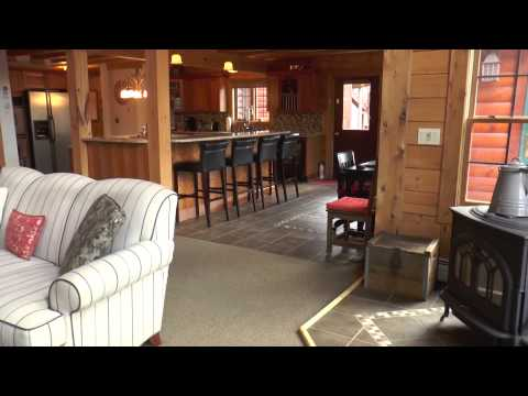 Executive Contemporary Log Home Windsor Hills Moscow Pa 18444