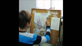 видео Московская олимпиада школьников по ИЗО