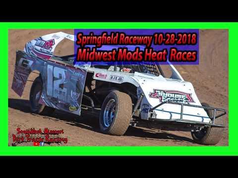 Midwest Mods - Heat Races - Springfield Raceway 10/28/2018 - Willard Project Grad