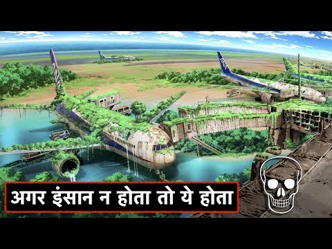 Download Youtube: अगर इंसान न होता तो धरती का ये हाल होता | A WORLD WITHOUT HUMANS | Aftermath of human extinction