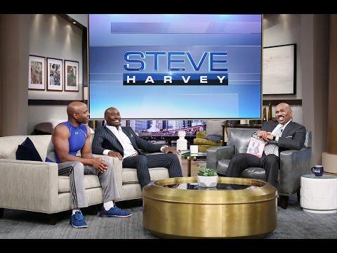 You can't walk up like that! || STEVE HARVEY