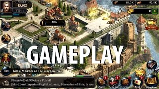 King of Avalon: Dragon Warfare (By Fun+) Gameplay iOS / Android Video HD