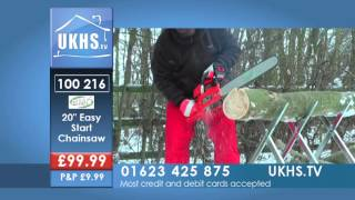 "Bmc 20"" Easy Start Chainsaw / Folding Saw Horse From Ukhs.tv"