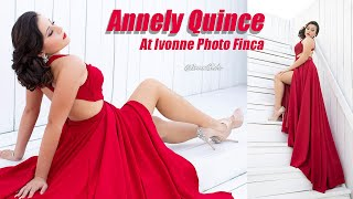 Ivonne Photo Behind the Scenes: Annely Quince