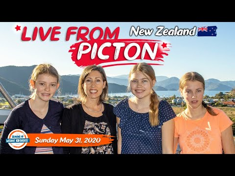 Live from Picton New Zealand - Growing Up Without Borders