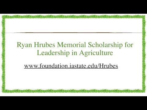 Scholarship announced in Ryan Hrubes' name