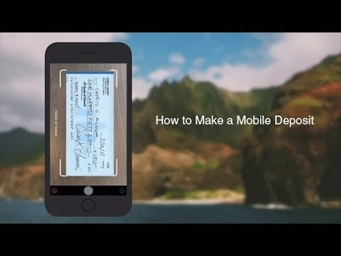 How To Make A Mobile Deposit