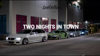 Two Nights in Town by LowCarMovie | BMW F31 + E92 | Audi R8 | VW Golf II + T5 | Air Lift Performance