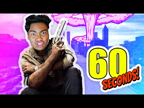HOW TO SURVIVE TO APOCOLYPSE! | 60 Seconds