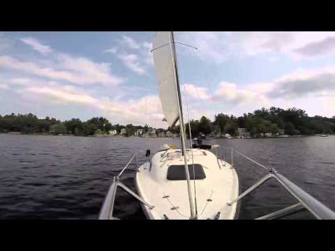Summer leisure sail - Starwind 19 - Kingston NH