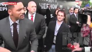Will Smith Slaps Reporter! - HipHollywood.com thumbnail
