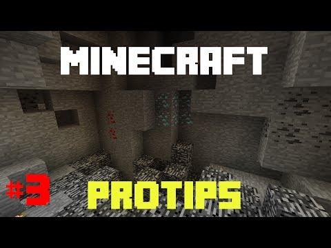 Minecraft ProTips - #3 : Am Schnellsten Erze Finden