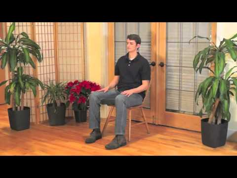 mindful chair yoga a beginner's practice with closing