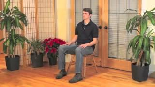 Mindful Chair Yoga: A Beginner