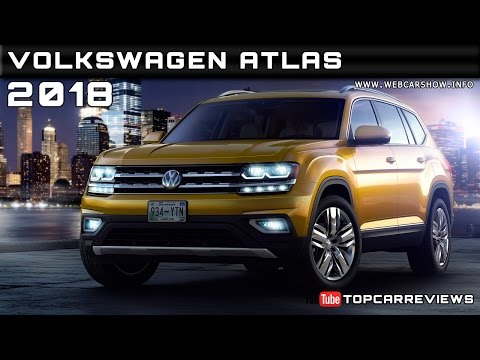 2018 Volkswagen Atlas Review Rendered Price Specs Release Date