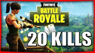 RECORD 20 KILLS | BATTLE ROYALE FORTNITE Fr