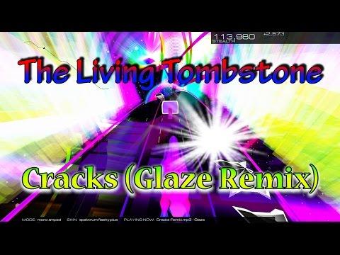 "The Living Tombstone - ""Cracks"" (Glaze Remix) [Audiosurf 2] ""60 FPS"""