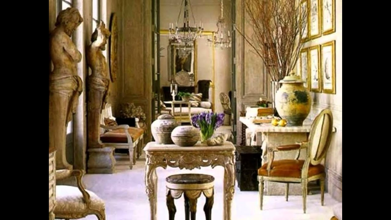 Tuscan home interior design classic elegant stylish decoration youtube Tuscan home interior design ideas
