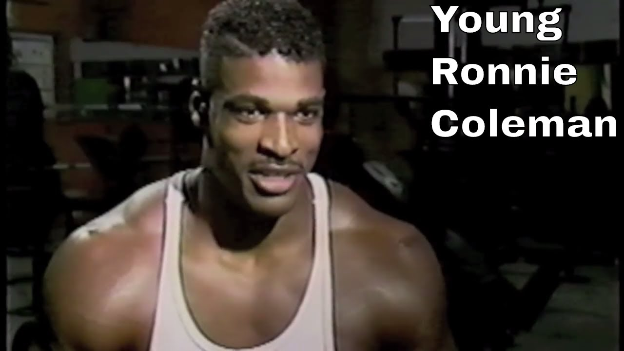 very young ronnie coleman rare news footage youtube