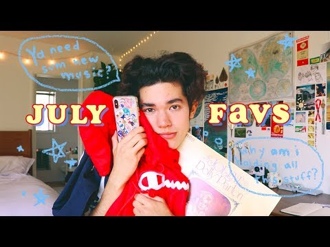July Favs 🍊  (Music, Clothes, Shows)