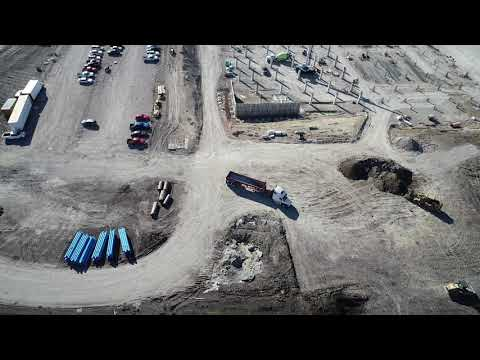 Technical Campus Aerial Construction (Collin College)