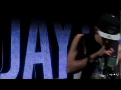 120803 Jay Park - I Got Your Back+Star @PoHang Woolim Music Festival