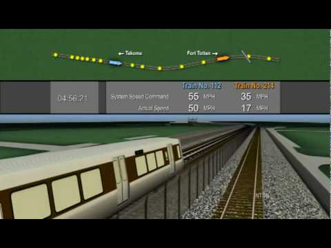 NTSB video documenting Washington DC Metro crash