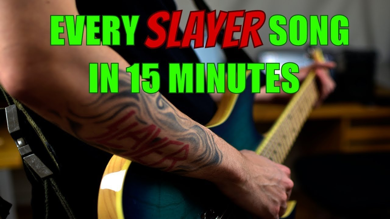 EVERY SLAYER SONG In 15 Minutes