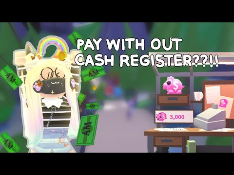 Adopt Me How To Pay With Out Cash Register Playztasia Youtube