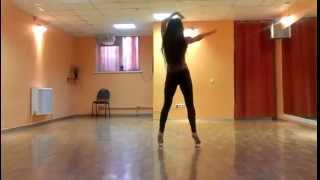 Обучение танцам. Стрип пластика, хореограф Громакова Татьяна
