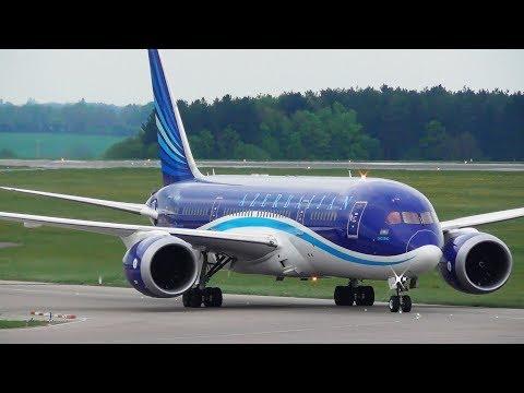 *Rare* Azerbaijan Boeing 767 and 787 at Luton Airport - Formula 1 Charters