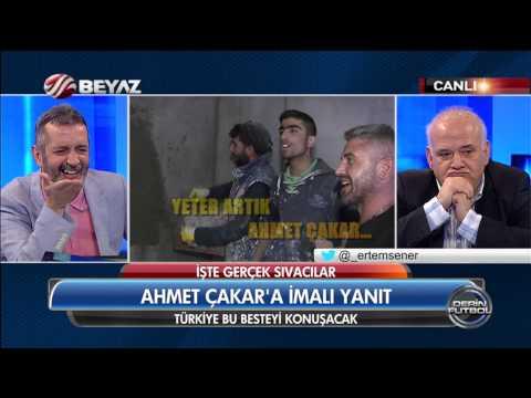 Sıvacılardan Ahmet Çakar`a besteli gönderme