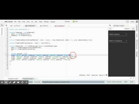 Creating a contextual, multi-select dropdown using Angular 7, rxjs 6 and  Angular Reactive Forms