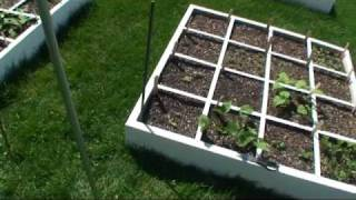 Greenfun: How To Build A Square Foot Garden Trellis System