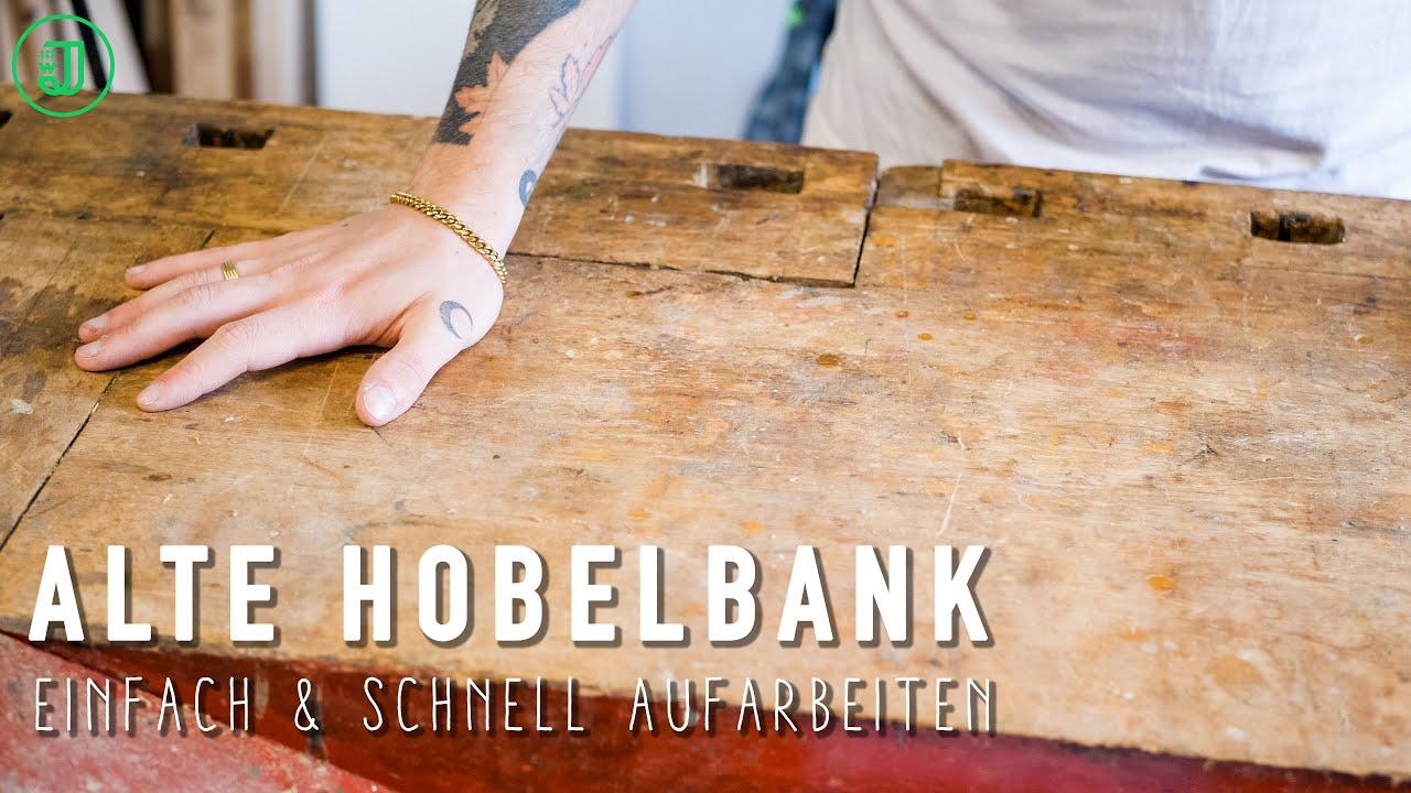 Alte Hobelbank Aufarbeiten Mit Der Power Carving Unit Von Arbortech Jonas Winkler Youtube
