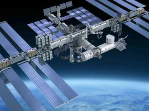 """Стыковка космического корабля """"Dragon"""" C  Международной космической станции"""