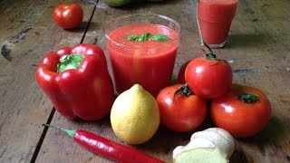 Ginger Pepper Tomato Juice ~ Refined Take 5