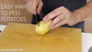 Amazing Potato Peeling Trick!