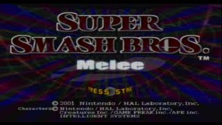 SGB Play: Super Smash Bros. Melee - Part 1
