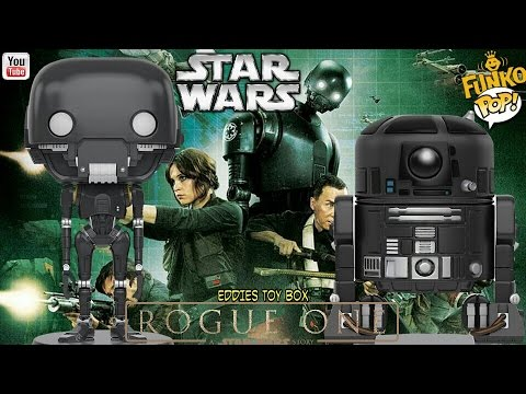 Star Wars Rogue One: K-2SO and C2-B5 Funko Pop! Review!